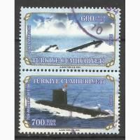 Продам марки Турции (Submarines)
