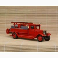 Коллекционная пожарная машинка ЗИС-11 ПМЗ-1