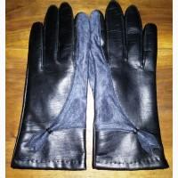 Женские перчатки, кожзам