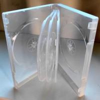 8DVD box прозрачный на 8 дисков. + бесплатная доставка. Киев