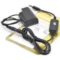 Блок питания от Повербанка адаптер аккумулятора Panasonic DMW-BLF19