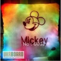 Подушка микки маус, светящаяся подушка-антистресс, Led подушка Mickey, купить оригинальный