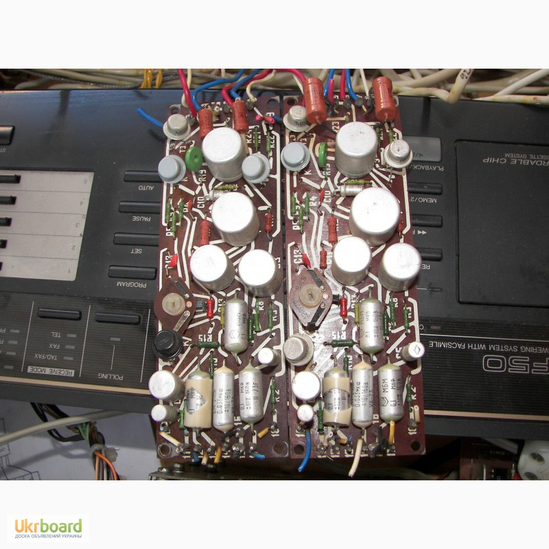 Фото 2. Платы радиотракта магнитофона Юпитер 201