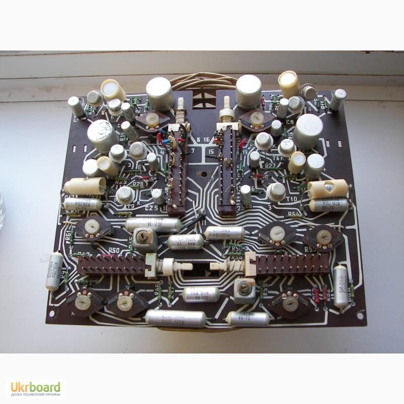 Фото 5. Платы радиотракта магнитофона Юпитер 201