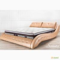 Модная кровать. Кожаные кровати (кожа, замша, алькантара)