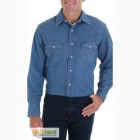 Оригинальные Американские джинсовые рубашки Wrangler, USA