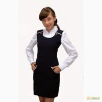 Сарафан школьный для девочки М-959