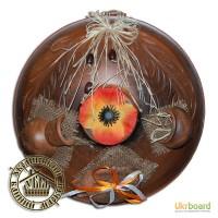 Сувениры подвесные из красной глины