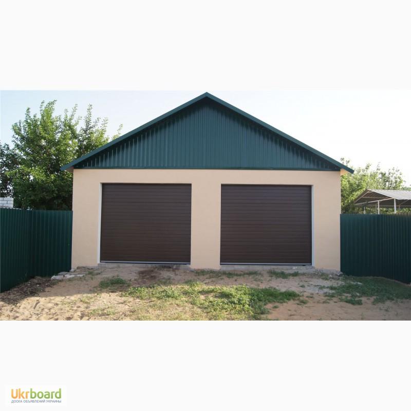Варианты строительства гаража на 2 машины
