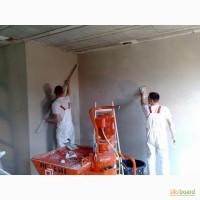 Машинная штукатурка стен Харьков. от 110 грн. м2 цена за работу