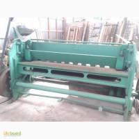 Продам Гильотину НГ3 3х2200 электро-механика рабочее состояние