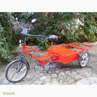 Продам Электровелосипед трехколесный, грузовой
