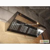 Зонт вытяжной вентиляционный пристенный ЗВВП 2000х800х350/400