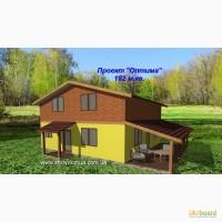 Каркасный канадский дом из сип панелей, супер предложение