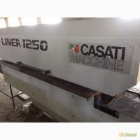 Сливочный ребросклеивающий станок для шпона LINEA 1250 CASATI
