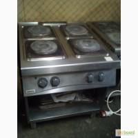 Плита б/у Zanussi 4 конфорки без духовки для столовой