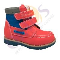 Ботинки детские Новые демисезонные ортопедические ОrtoBaby D8104 Натуральная Кожа