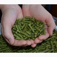 Гранулированное сено люцерны с доставкой, мешок 30кг