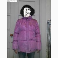 Куртка бренда Zara Kids сиреневого цвета