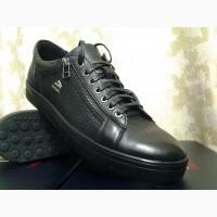 Мужские кроссовки-кеды на молнии Bertoni