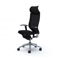 Эргономичное кресло OKAMURA CP polished-mech-BLASK