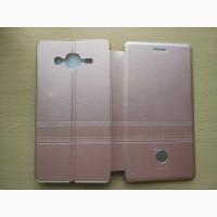Кожаный чехол-книга iMax на магните на Samsung J5 (J500H)