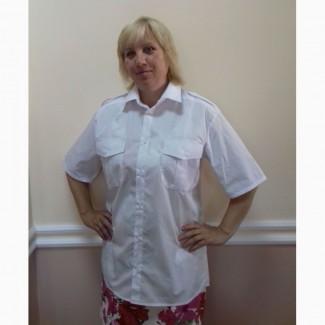 Рубашка форменная женская, мужская, отличное качество
