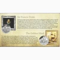 Продам набор серебряных монет История королевского флота Корабли и капитаны