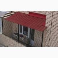 Ремонт крыши или кровли балкона