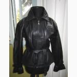 Тёплая женская кожаная куртка MASTER LEATHER. Лот 293