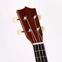 Гавайская гитара Burks UK-21+ Струны и медиаторы - Укулеле Сопрано