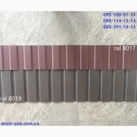 Профнастил Коричневый 8019, Металлопрофиль 8019, Профлист РАЛ 8019