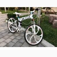 Велосипед BMW X5 White складной.21 скорость