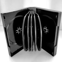 12DVD-box чёрный на 12 дисков. + бесплатная доставка. Киев