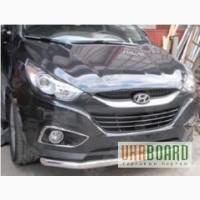 АКЦИЯ! Защитная дуга по бамперу Hyundai IX35 одинарная