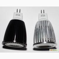 Светодиодная лампа 12W LED MR16 АС/DC 12-24V, 12Вт 12-24 вольт