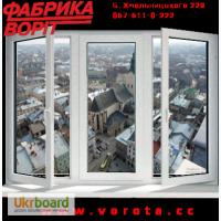 Металопластикові вікна, Підвіконня, Водовіливи, Захисні Ролокасети