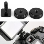Переходник-адаптер на горячий башмак фотокамеры с винтом 1/4 дюйма