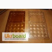 Упаковка ПЭТ для перепелиных яиц