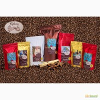 Кофе в зернах свежей обжарки Арабика, Робуста, бленды Caffissimo