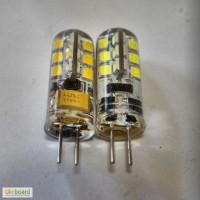 Светодиодная Led лампа G4 3W 280Lm 12-24V AC-DC