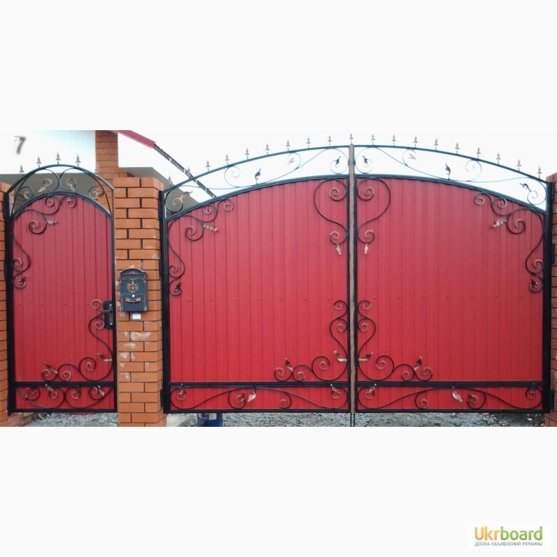 откатные ворота из профнастила расценки на монтаж
