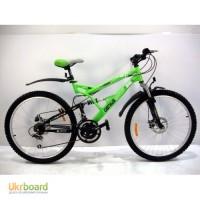Горный двухподвесный велосипед Azimut Rock 24 D