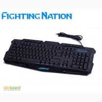 Игровая клавиатура с диодной подсветкой Fighting Nation