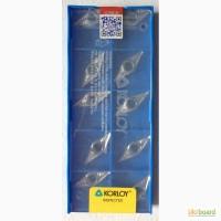 Твердосплавная пластина VCGT 160404-AK H-01, Korloy