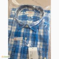 Мужская фирменная рубашка с короткими рукавами S.Oliver, размер L, наш 48-50, Германия