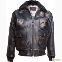 Шкіряна куртка Top Gun Offical Signature Series Jacket (чорна)
