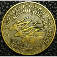 Камерун 25 франков 1958 год ОТЛИЧНЫЙ СОХРАН