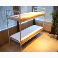Кровати металлические. Кровати двухъярусные. Металлическая кровать