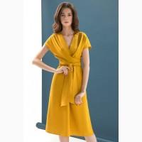Женское льняное платье на лето от DZAN